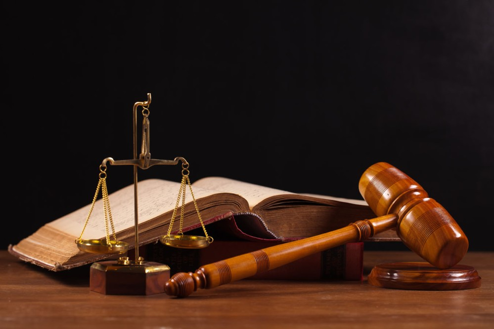 law book and gavel